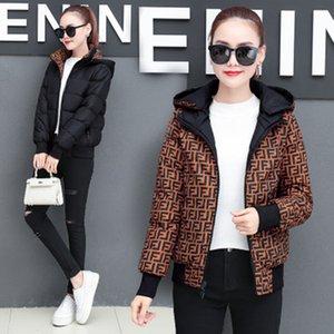 Mulheres casacos de inverno designer de casacos mulheres baixo inverno algodão casaco FF duplo desgaste em ambos os lados jaqueta designer de solta casaco de capuz pão