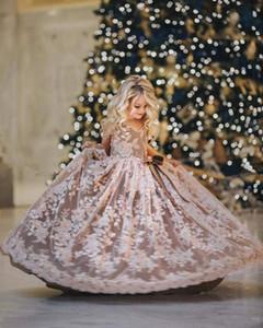 2020Fashionable little girl flower baby dress