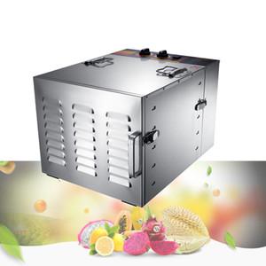 10 Уровень Коммерческий Professional Fruit Food Осушитель 110V 220V Питание Фрукты Овощной Pet Meat осушитель воздуха Питание осушителя
