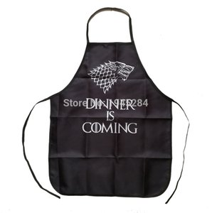 Game of Thrones Dinner is Coming Apron For Women Man BBQ Cleaning Cooking Apron Baking Accessories Funny Gift Daily Home Use