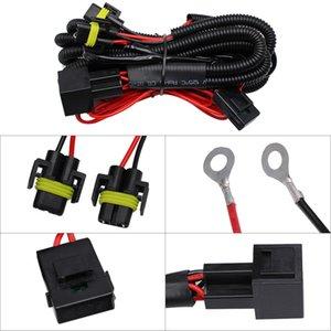 자동차 오토바이 YUNPICAR H11 880 881 H8 유니버설 40A 릴레이 배선 하니스 키트는 LED 자동차 안개 빛 변환 어셈블리에 적합