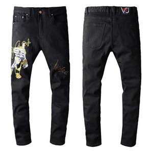 2020 new brand of fashionable European and American men's casual jeans ,high-grade washing, pure hand grinding, quality optimization %1111