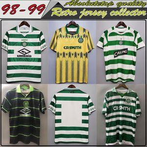 top retro Jersey collector's edition 91 92 97 99 LARSSON soccer jerseys HOME GREEN BRATTBAKK JOHNSON WIEGHORST BURLEY Worth having