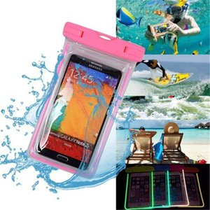 """Waterproof Pouch Dry Case Cover For Universal 4.8""""-6.0"""" Phone Camera Mobile Phone Water proof Bag LZ0460"""