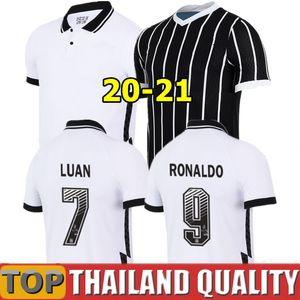 19 20 21 Corintios Camisetas de fútbol PEDRINH 2020 VAGNER LOVE Conjunto de camiseta de fútbol RAMIRO BOSELLI LUAN Hombres Mujer Kit para niños uniformes