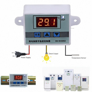 XH-W3002 LED Digital Temperature Controller AC 110V 220V 12V 24V Thermostat Regulator 10A Heating Cooling Switch CFFo#