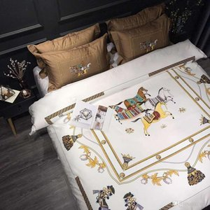 Good Quality Satin Silk Bedding Sets Flat Solid Color Queen King Size 4pcs Duvet Cover+Flat Sheet+Pillowcase Twin Si