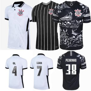 2019 2020 2021 Corinthians Paulista maglia da calcio 20 21 Pedrinho Jadson ROMERO casa lontano maglia da calcio 3 °