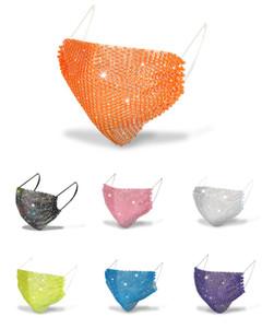 Nouveau mode Masque Décoration Luxe Masque Diamant brillant bling bar Face Get Together Party Supplies Livraison gratuite