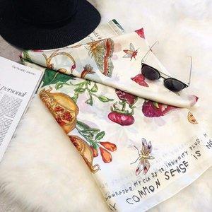 47 women silk scarf Soft Solid Female cape shawl ladies beach wrap femme Pashmina Fashion Scarf