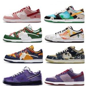 x Low SB QS Mens scarpe da corsa di sport Chunky Dunky Safari Sneakers Notte di scarpe Mischief pino verde Dunk Skateboarding 2DWJ #