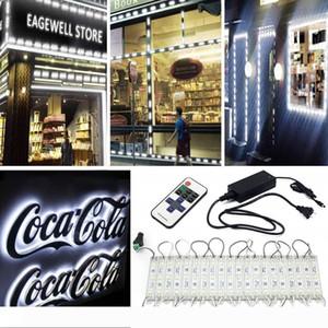 20FT Storefront Lights 40 Pieces 5630 LED Light Module Kit High Brightness LED Module Store Front Window Sign Strip Light