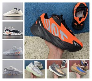 Erkek Kadın Ayakkabı Ucuz Vanta 700 V3 Alvah Azael Atalet Kanye West Sütlü Mıknatıs V2 Mist yabancı Runner Sneakers Running Son 700 MNVN
