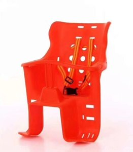 Bicycle children's children's plastic rear Bike seat safety chair electric car safety seat
