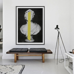 Modern Classic Sculpture Posters and Prints Abstract Wall Art Canvas Painting Wall Pictures for Living Room Bedroom Home Decoration