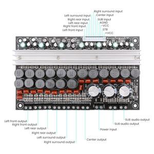 Freeshipping 7,1 TPA3116 Amplifier Power Board 100 Вт 50 Вт Сабвуфер Центральный Громкоговоритель Аудио усилители Главная AMP DC12-24V