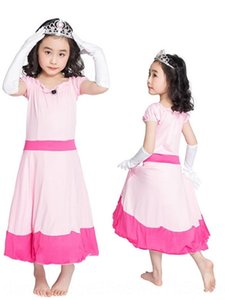 Yao xintian Cadılar Bayramı yeni aşama kostüm üniforma masal pembe Sahne kostüm çocuk Çocuk prenses elbise
