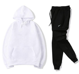 Hot sale set sweatsuit Tracksuit Men hoodies+pants Mens Clothing Sweatshirt Pullover men Casual Tennis Sport Tracksuit Sweat Suit