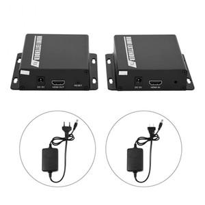 1080P HDMI Extender Over TCP / IP Одно CAT5e / 6 кабель LAN RJ45 ИК управления HDMI приемник / передатчик