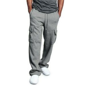 Hombres Sweypants Largo Pantalones deportivos sueltos Casual Elástico Cintura Gimnasio Gimnasio Slim Fit Pantalones corriendo corriendo Joggers Gimnasia Sweetpants