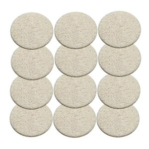 Facial Luffa-Pads Loofah Disc entfernen Make-up-Exfoliating Gesicht Loofah Pad Small Size