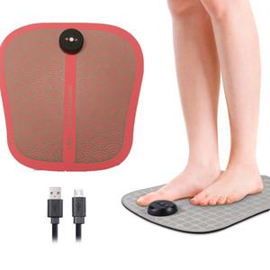 Электрический массажер ног Портативный ABS Физиотерапия Ноги Ноги Мышцы Стимулятор Интегрированная Фитнес оборудование USB аккумуляторная