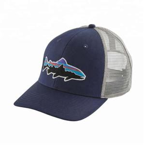 무료 배송 DHL 성인을위한 모자 패션 스포츠 여름 모자 메쉬 도매 사용자 정의 6 패널 성격 트럭 캡 야구