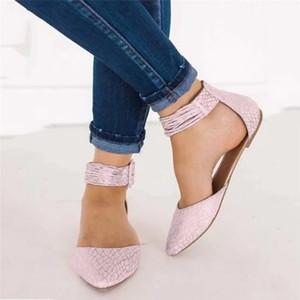 Günlük Kadınlar Sivri Burun Flats Kadın Tekne Annelik Loafers Sandalet Sığ Ağız Bale Shoes