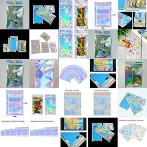 7X10Cm Resealable Plastic Bags Near Me Holographic Resealable Bags Translucent Pouches Designs Dress Packaging Bag Mdzix mmj2010 uITBB