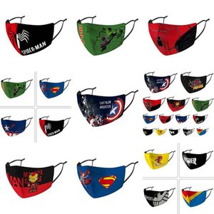 Cheap Face Masks Captain Designer Face Mask Kids Mask Riding Cold Protection America Mask Captain Shield Punisher Deadpool Marvel BDE2010 bq