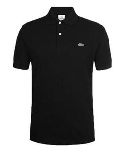 2019 homens Rampo rampo Manga Curta T-shirt faixa branca top camisa de fundo redondo pescoço meia manga comprida T-shirt roupas da moda PO022