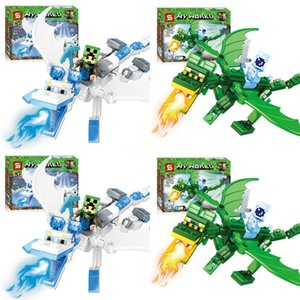 New 8 In 1 SY624 Ing Iron Man Building Blocks Hulkbuster Figure DIY Model Assembling Brick Toys For Kids#824
