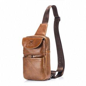 FGGS BULLCAPTAIN Mens petto Fashion Bag Crossbody Bags For Men Genuine Leather Shoulder Bag Piccolo Bb3P #