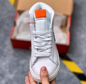 Güncelleme Blazer Mid Hawkins Lisesi Spor Ayakkabı Yabancı Şeyler Spor Womens Tasarımcı Sneakers des chaussures Eğitmenler L26 x