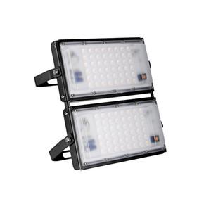 100W Açık IP65 su geçirmez Sınıf Ilık beyaz LED Taşkın Işık Lambası Açısı Ayarlanabilir Stadı Yolu Garaj ışıkları açtı