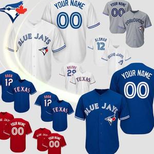 Personalizzato Toronto Vladimir Guerrero Jr. Blue S-6XL Jersey Roberto Alomar Carter Randal Grichuk Smoak Royal Stroman Jersers Baseball Jerseys