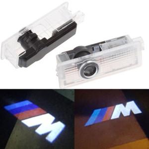 Araba Kapı Hoşgeldiniz Işık Nezaket Lazer Projektör Işıkları LED Araba Kapı LED Logo Işık BMW M için E60 M5 E90 F10 X5 X3 X6 X1 Araba Aksesuarları