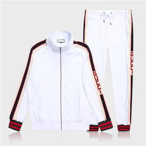 20SS Luxury Designer Costume de jogging Hommes conception Sweatshirt Courir Survêtements Hoodies Jogger Outfit Sets Costumes Fitness Mode piste