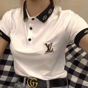 Shirt estate delle donne polo della maglietta classica T Shirt manica corta 2020 di modo di marca Polo per le donne vendita calda solido consegna libera di colore Polo Tee