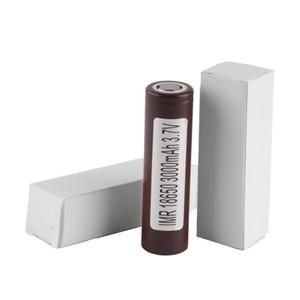 HG2 3000mAh 18650 recarregável 3.6V para descarregar as baterias de cigarro 20A Eletrônico VS VTC5 18650 Bateria