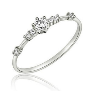 Beautiful Hollow Out Ring Exquisite Rings Delicate Wedding Engagement Band Finger Ring