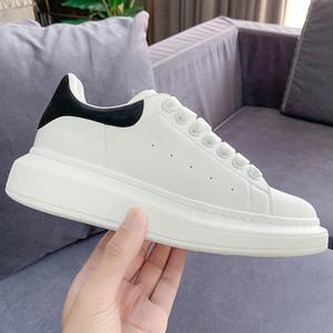 Пластинчатые формного Черные белые светоотражающего бархат платформа ботинки партия способа Porm зашнуровать серебро Sequin сверкающих женщина людей эспадрильи