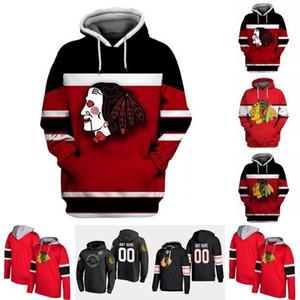 Chicago Blackhawks Hoodie Jersey Mens 7 Brent Seabrook 2 Duncan Keith 19 Jonathan Toews 50 Corey Crawford 88 Patrick Kane Hockey Jerseys