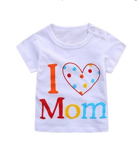 2020 boys tees Tops Children T-shirt Baby Girl t shirts solid color Blouse boys shirts baby summer clothes