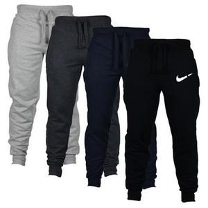 2020 Jogger moletom casuais calças de grife de luxo exercício da aptidão marca de lã tecnologia moletom calças cargo de outono e inverno homens homens