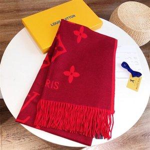 2020Skirt Style Louîs Vuittõn Brand Designer Primavera e Summer Gold Yarn Tinking Sciarpa da donna Soft Autumn Sciarpa lunga 180 * 65 cm