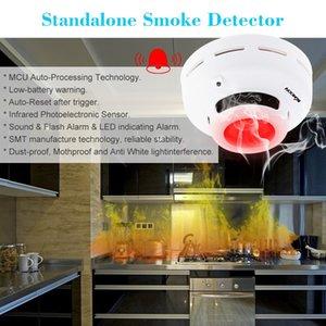 Smart Wireless Smoke Detector MCU технологии пожарной сигнализации Датчик Высокочувствительный Стабильно Home Security