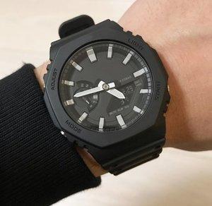Limited Edition G Стиль Shock Наручные часы Мужчины Новое прибытие Oudoor Led Часы Цифровые Аналоговые Мужские Многофункциональные спортивные часы Royal Oak