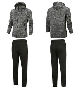 Tasarımcı Eşofman İyi Sürüm İlkbahar Sonbahar Erkek Moda Fermuar Suit Tops + Pantolon Casual Kazak Sport Suits Kapşonlu Hoody artı boyutu Mens