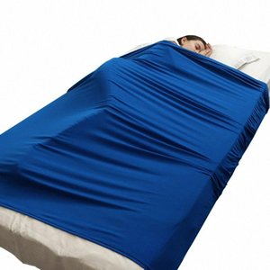 Sensory Bed Sheet for Kids Ages 5+ Compression Alternative to Weighted Blankets Sensory Sheet Appease Anti-kick 7pxE#
